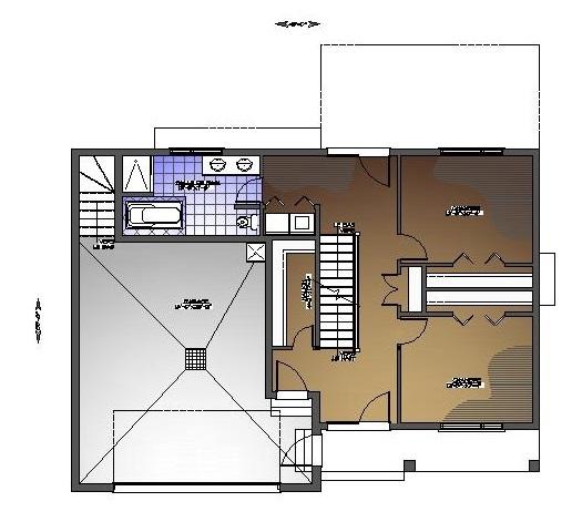 Plan de maison et ou plan de r novation de type tage for Concepteur de plan de maison