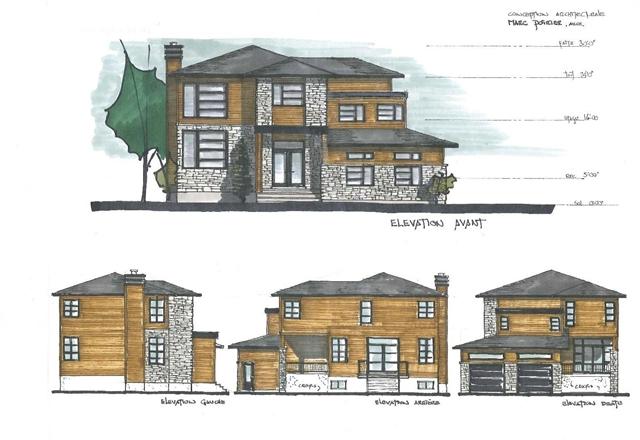Plan Elevation Maison : Plan de maison et ou rénovation type À étage
