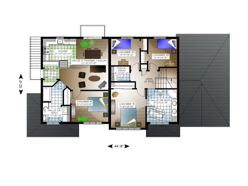 Plan De Maison Et Ou Plan De Rénovation De Type Plusieurs
